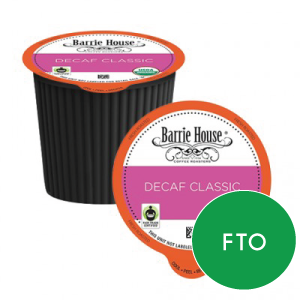 Barrie House - DECAF Classic FTO (24 pack)