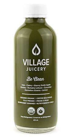 Be Clean - Village Juicery (410ml)