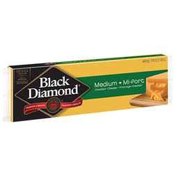 Black Diamond Cheese - Medium Cheddar (400g)