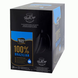 Brown Gold - 100% Brazilian  (24 pack) - Coffee - Pod - Recycling