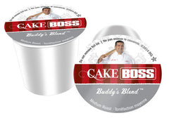 Cake Boss - Buddy's Blend  (24 pack) - Coffee - Pod - Recycling