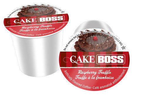 Cake Boss - Rasberry Truffle  (24 pack) - Coffee - Pod - Recycling