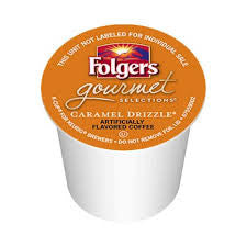 Folgers - Caramel Drizzle  (24 pack) - Coffee - Pod - Recycling