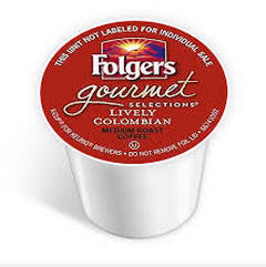 Folgers - Lively Colombian  (24 pack) - Coffee - Pod - Recycling