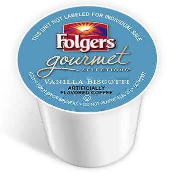 Folgers - Vanilla Biscotti  (24 pack) - Coffee - Pod - Recycling