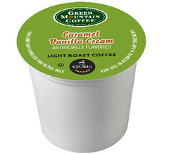 GMCR - Caramel Vanilla Cream  (24 pack) - Coffee - Pod - Recycling
