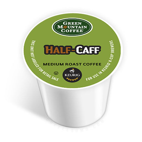 GMCR - Half Caff  (24 pack) - Coffee - Pod - Recycling