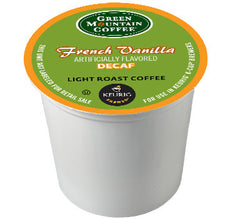 GMCR - Decaf French Vanilla  (24 pack) - Coffee - Pod - Recycling