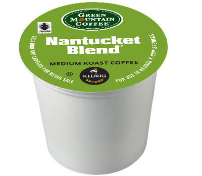 GMCR - Nantucket Blend  (24 pack) - Coffee - Pod - Recycling