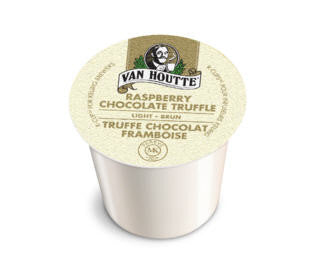 Van Houtte - Chocolate Raspberry Truffle  (24 pack) - Coffee - Pod - Recycling
