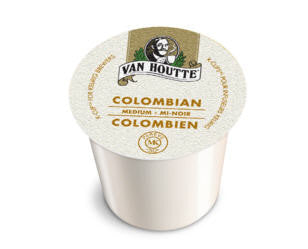 Van Houtte - Colombian Medium  (24 pack) - Coffee - Pod - Recycling