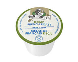 Van Houtte - French Roast Decaf  (24 pack) - Coffee - Pod - Recycling