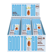 Load image into Gallery viewer, Good to Go - Vanilla Almond Snack Bar (9 x 40g)