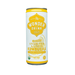 Kombucha - Wonder Drink - Green Tea & Lemon (24x250ml)