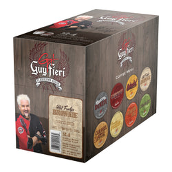 Guy Fieri - Hot Fudge Brownie  (24 pack) - Coffee - Pod - Recycling