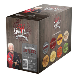 Guy Fieri - American Diner Blend  (24 pack) - Coffee - Pod - Recycling