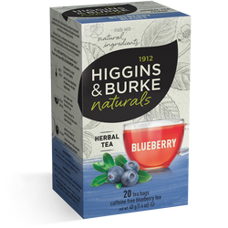 Higgins & Burke - Blueberry (20 bags) - Tea - Tea Bags