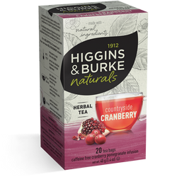 Higgins & Burke - Countryside Cranberry (20 bags) - Tea - Tea Bags