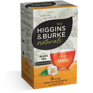 Higgins & Burke - Decaf Orange Pekoe (20 bags) - Tea - Tea Bags