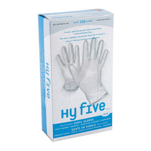 Gloves, Vinyl - MEDIUM - Powder Free (100 Pack)