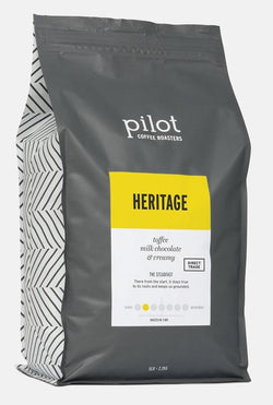 Pilot - Whole Bean - Heritage - LARGE (5 POUNDS)