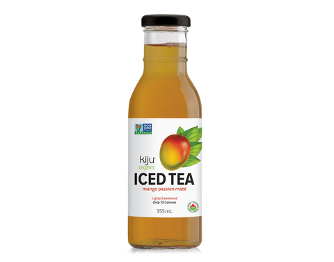 Kiju - Iced Tea - Mango Passion Mate - Glass (12x355ml)