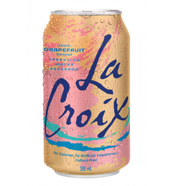 La Croix Sparkling Water - Grapefruit (8x355ml)