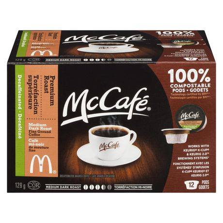 DECAF - McCafe  (12 pack)