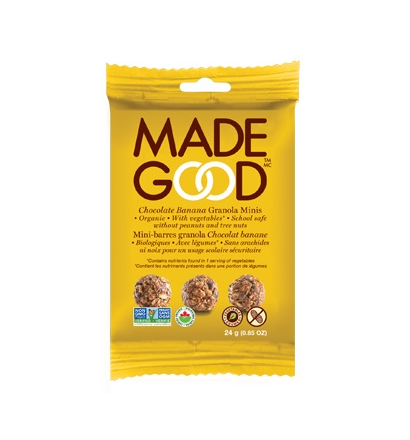 Made Good - Granola Minis - Banana Chocolate (12x24g)