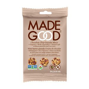 Made Good - Granola Minis - Chocolate Chip (4x24g)