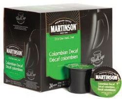 Martinson - Columbian Decaf (24 pack) - Coffee - Pod - Recycling