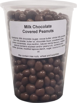 Milk Chocolate Peanuts ( 1 X 32oz Tub )