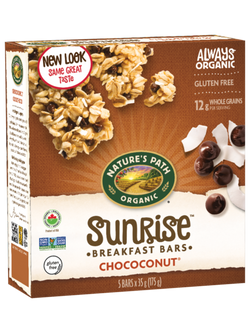 Nature's Path - Sunrise Breakfast Bars - Chococonut (6x35g)