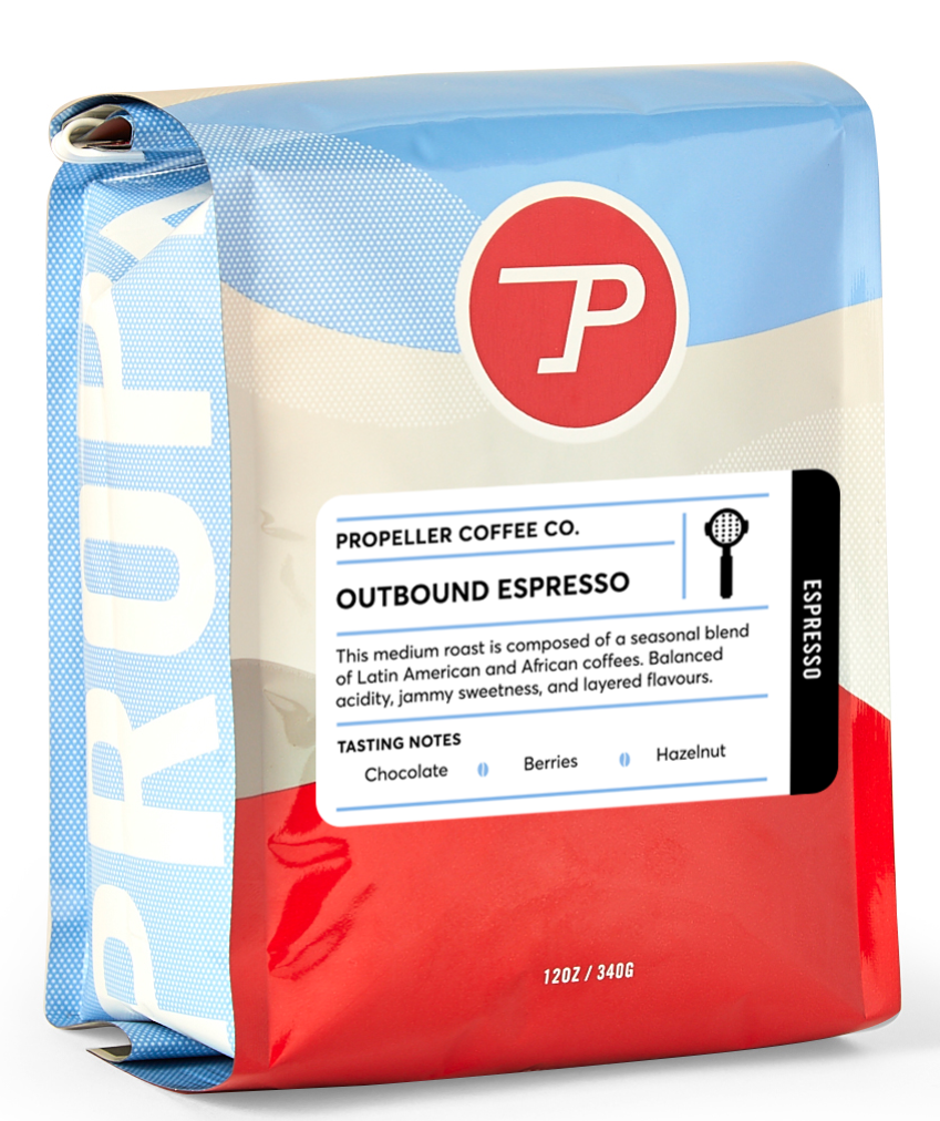 Propeller - Outbound Espresso - LARGE (5 POUNDS)