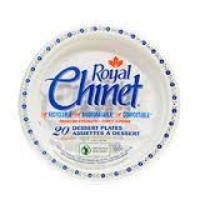 Royal Chinet - Medium Paper Plates 8.75in (40 pack)