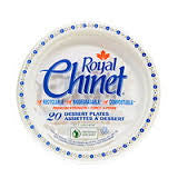 Royal Chinet - Small Paper Plates 6.75in (40 pack)