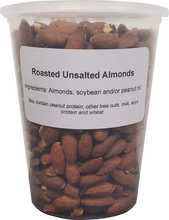 Load image into Gallery viewer, Almonds - Roasted, No Salt  ( 1 X 32oz Tub )