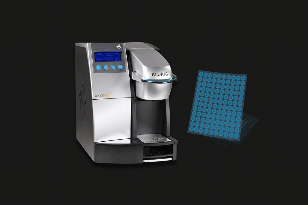 Antimicrobial Film Cover - Keurig 3000
