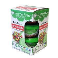 Summer Fresh - Five Bean Snack n Go Salad  (3x115g)