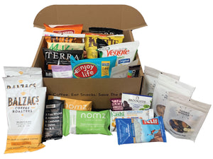Work-From-Home Box (Snacks+Ground Coffee) (various sizes)