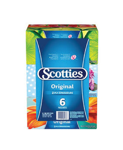 Scotties 2-Ply Facial Tissue (6 boxes)