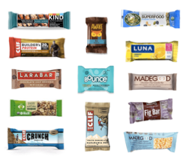 Mixed Bars and Such (each)