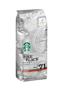 Starbucks - Whole Bean - Pike Place Roast (1lb) - Coffee