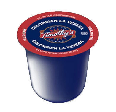 Timothy's - Colombian La Vereda  (24 pack) - Keurig - Pod - Recycling