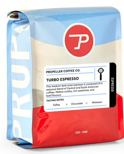 Propeller - Turbo Espresso - LARGE (5 POUNDS)