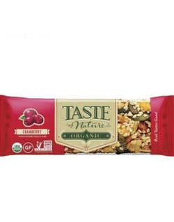 Taste of Nature - Cranberry (16x40g)