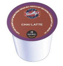Timothy's - Chai Latte (24 pack) - Keurig - Pod - Recycling
