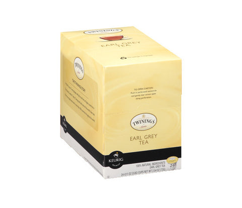Twinings - Tea - Earl Grey  (24 pack) - Tea - Pod - Recycling