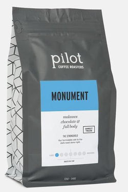 Pilot - Whole Bean - Monument - LARGE (5 POUNDS)