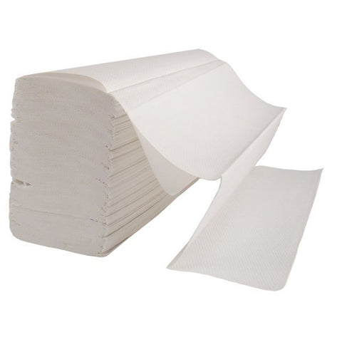 Select Multifold White Paper Hand Towels (4000 towels)